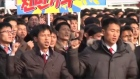 North Koreans protest against UN human rights resolution