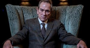 Tommy Lee Jones: 'For as long as people are making movies, they're going to sometimes make movies about the history of their country.' Photograph: Andrew Testa/New York Times