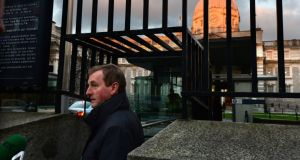 Taoiseach Enda Kenny arriving at Government Buildings  earlier this month. Photograph: Dara Mac Dónaill / The Irish Times