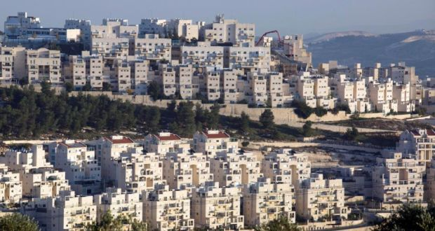 'Today, the Israeli illegal settlement policy in East Jerusalem and in the West Bank clearly undermines the prospects for a two-state solution and questions Israel's commitment to peace.' Above, a general view of the East Jerusalem neighborhood called in Hebrew 'Har Homa' and Arabic as 'Jabal abu Ghneim'. Photograph: Abir Sultan