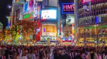 Shibuya Crossing in Tokyo. Demand deficiency syndrome has afflicted Japan since the early 1990s and the US, euro zone and UK since 2008 at the latest. Photograph: Getty Images/Flickr RM