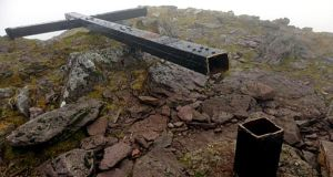 The cross that was cut down from the top of Carrauntoohil in Co Kerry will be reinstated before Christmas