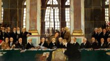 Modern Ireland in 100 Artworks: 1919 – The Signing of Peace, Versailles, by William Orpen