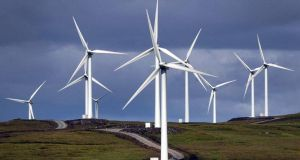 "John Callaghan alleges the normal planning process for the wind farm has been ""by-passed"". Photograph: PA"