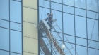 21 floors later: window washers rescued outside hotel