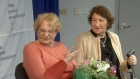 Holocaust survivor Mira Wexler reunites with her rescuer Helena Weglowski for the first time since 1945. Video: Reuters