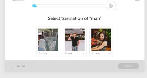 Irish language gets boost from Duolingo mobile app