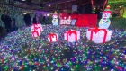 A Christmas lights display in Canberra sets a Guinness World Record for the largest display of lights, with over a million LEDs switched on. Video: Reuters