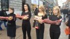 Barnardo furriers given cold shoulder by angry protesters