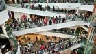 Dundrum Town Centre: trade was up on Black Friday. Photograph: Matt Kavanagh