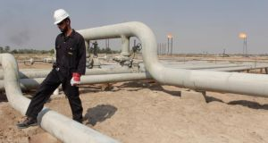 An oilfield in Iraq. The oil market is analysed more than any other, and for good reason – it really is that important.  Photograph: Reuters