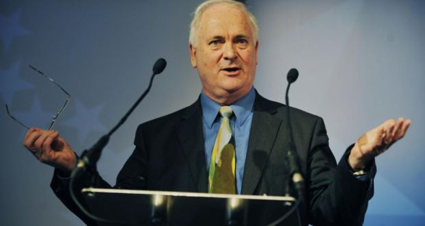 Former taoiseach John Bruton:  the Kilmichael Ambush Commemoration  was told at the weekend that  his  comments about the Easter Rising and the War of Independence marked the most extreme articulation of a particular view of Irish history. Photograph: Aidan Crawley