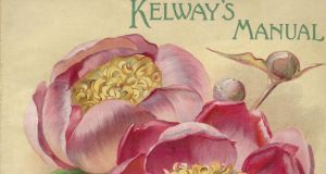 Kelway's Manual, from many botanical prints in the extensive RHS collection