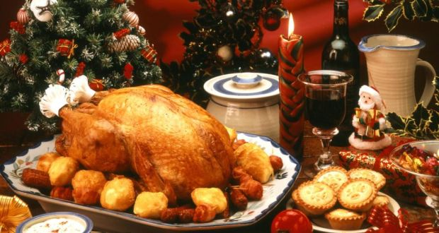 Traditional Irish Christmas Dinner.Irish Consumers Plan 528m Splurge On Christmas Fare