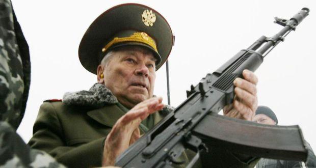 Kalashnikov rifles rebranded as 'weapon of peace'