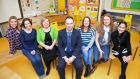 Members of the St Colmcille's National School Knocklyon Parent Association, from left, Ruth Connolly-Devlin , Yvonne Dunn , Louise Burke, chairwoman, Richie McCormack, Sharon McAllister, Tracy Griffin and Monica Ferrer Sala. Photograph: Eric Luke