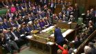 Shadow chancellor Ed Balls responds to Chancellor of the Exchequer George Osborne following the Autumn Statement to MPs in the House of Commons.
