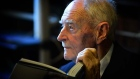 Former Taoiseach Liam Cosgrave (94) donates his father WT Cosgrave's papers to the Royal Irish Academy to coincide with the anniversary of the First Executive Council on 6th Dec 1922. Video: Bryan O'Brien