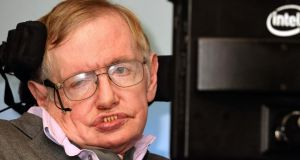 "Prof Stephen Hawking:  ""Humans, who are limited by slow biological evolution, couldn't compete and would be superseded."" Photograph:  John Stillwell/PA"
