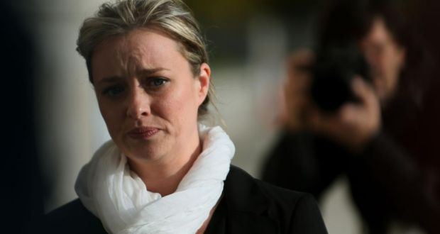 Mairía Cahill: her controversy has had more impact on potential Sinn Féin voters than the arrest of Gerry Adams in May. photograph: Brian Lawless/PA Wire