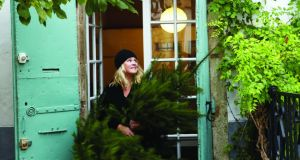The country life: Trish Deseine gets ready for Christmas in  her house in southern France. Photograph: Deirdre Rooney