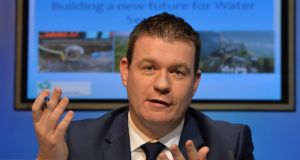 Alan Kelly: 'By registering with Irish Water and making your contribution to funding the investment in water services and infrastructure, you can make difference'. Photograph: Alan Betson / The Irish Times