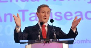 'It is very much to their credit that Enda Kenny and his Fine Gael and Labour colleagues in Government have broadly done what was required to bring the country back from the brink of disaster'.  Photograph: Alan Betson / The Irish Times