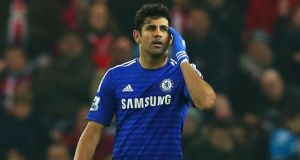 Diego Costa of Chelsea is expected to start against Newcastle United.  Photograph:  Alex Livesey/Getty Images