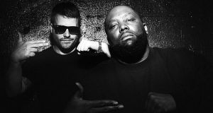 """I've always seen rappers as liberators."" Killer Mike (right) with collaborator MC El-P."