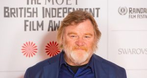 Brendan Gleeson: beat Oscar contenders Benedict Cumberbatch and Timothy Spall to the prize of best actor at the British Independent Film Awards. Photograph:  Dominic Lipinski/PA Wire