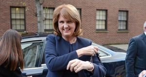"Tánaiste Joan Burton has denied there is a disagreement between Fine Gael and Labour over tax reform but says the issue has lead to ""strong debate and discussion"" between the Coalition parties.  Photograph: Eric Luke / The Irish Times."