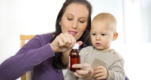 Feverish child? Reach for the bottle, head for the creche, then go to work. Photograph: Thinkstock Images