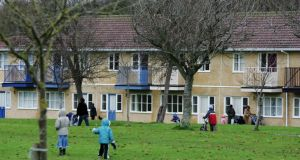 Housing in Mosney for asylum seekers. Accumulated profits for Mosney Irish Holidays's last set of published accounts in 2009 were €5.4m. Photograph: Frank Miller