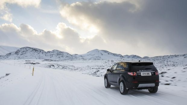 Land Rover Disco Sport meets its match in Iceland