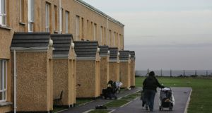 The State pays firms about €50 million a year to provide bed and board for more than 4,000 asylum seekers. Housing in Mosney for asylum seekers (pictured). Photograph: Frank Miller/The Irish Times