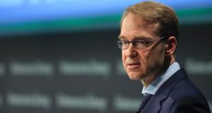 "German Bundesbank president Jens Weidmann: argued ""it is fanciful to believe that monetary policy tools can sustainably lift the growth potential of an economy"". Photograph: Krisztian Bocsi/Bloomberg"