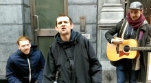 Keywest jam with Love/Hate's Tommy KD on Grafton Street