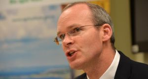Minister for Agriculture, Food and the Marine Simon Coveney: more than €20 million has been awarded to almost 40 agri-food and forestry research projects.  Photograph: Alan Betson / The Irish Times