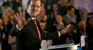 Mariano Rajoy: so-called transparency portal is the flagship project of  the prime minister's new transparency law. Photograph: Pau Barrena/Bloomberg