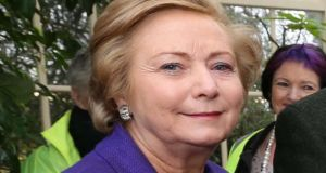 Minister for Justice Frances Fitzgerald: has ruled out providing employment rights for asylum seekers or an amnesty for those in the system. Photograph: Colin Keegan/Collins.
