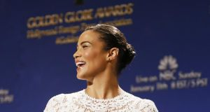 Actor Paula Patton during the nomination announcements for the 72nd annual Golden Globe Awards. Photograph: Danny Moloshok/Reuters