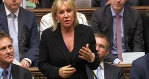 "Nadine Dorries in the House of Commons: ""Poor Irish communities, who settled in Liverpool in the 1950s, survived and supported each other in a way born of a unique generosity of spirit"""