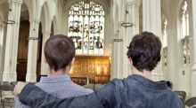Gay Catholics pray 2015 will be the year of the welcome