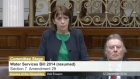 Heated exchanges continued in the Dáil today as Independent TD Róisín Shortall was expelled in the extended row over the introduction of water charges.