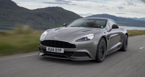 The Aston Martin Vanquish: Gorgeous to look at and to listen to, but hamstrung by a nuggety ride quality