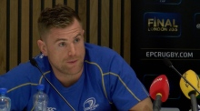 Heaslip and O'Connor on Leinster's win