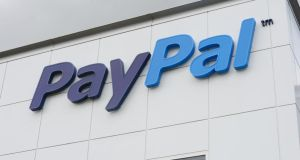 Paypal's lending programme could prove critical as the company spins off next year from parent eBay, to compete in an increasingly crowded payments-processing industry.  (Photograph: Alan Betson / THE IRISH TIMES)
