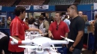 The first-ever drone expo debuts in LA, where experts say drones may one day even be able to find your children. Video: Reuters