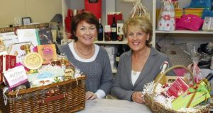 Mary Leahy and Oonagh Levis, directors of Town & Country Hampers