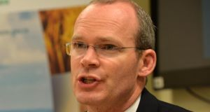 "Minister for Agriculture, Food and the Marine Simon Coveney said he  faced his ""most serious"" council ever.  Photograph: Alan Betson"